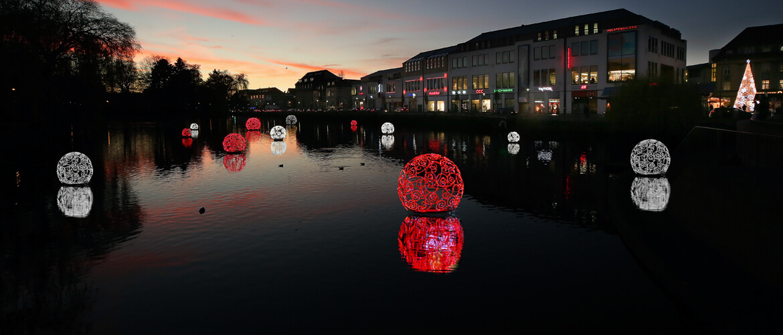 Weihnachtsbeleuchtung Xxl.Neumünster Leuchtet Citymanagement Neumünster